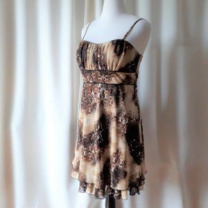 *2/$14* R & M Richards Lined Dress Size 12